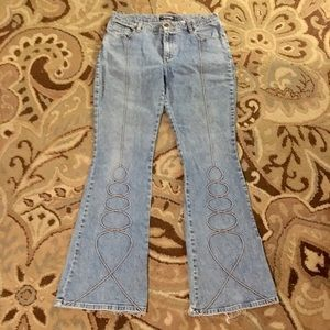 Gasoline Sz 13 Flared Jeans